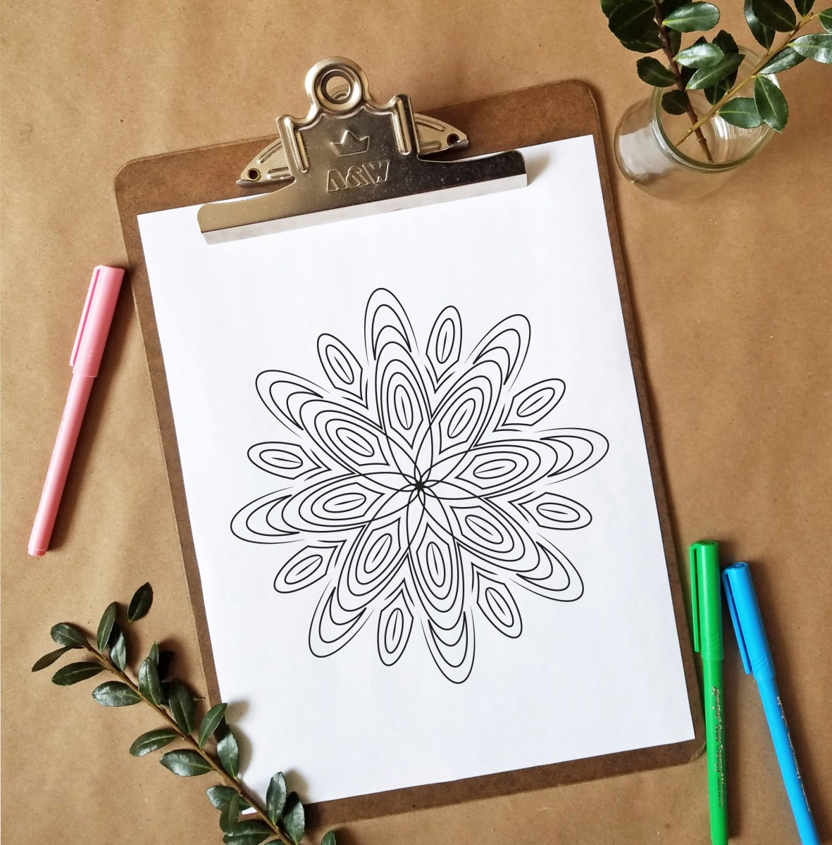 FREEbie Friday - Coloring Page 9