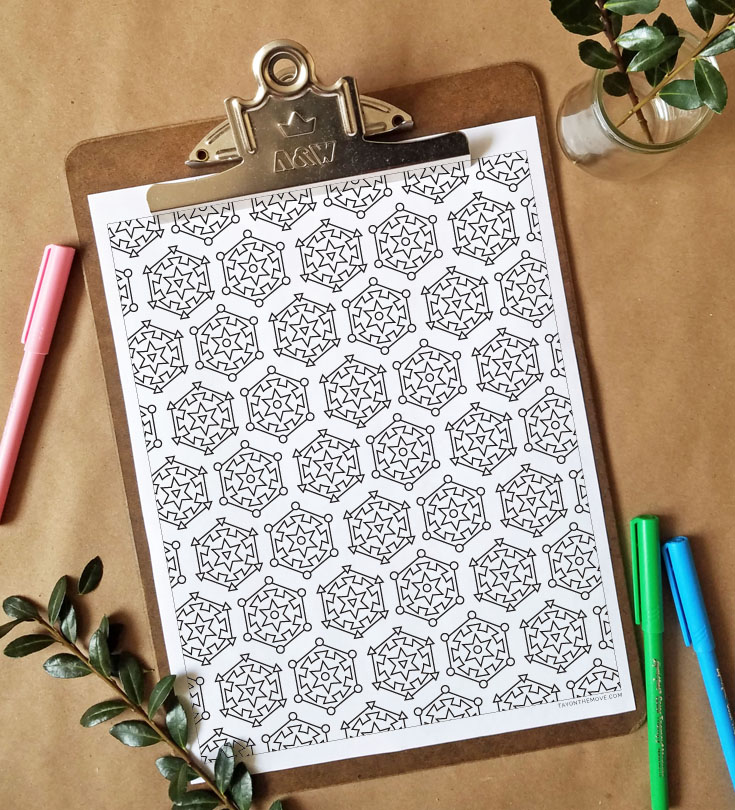 FREEbie Friday - Coloring Page 17