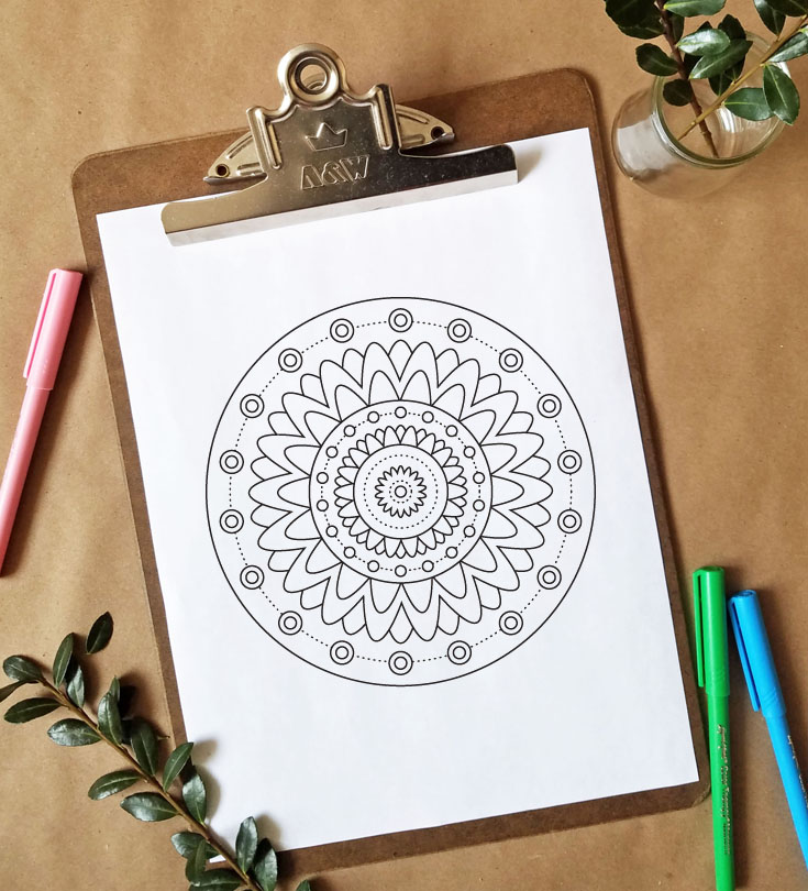FREEbie Friday - Coloring Page 18