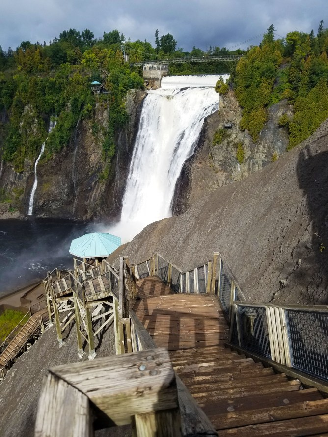 What to do in Quebec City, Quebec, Canada : Montmorency Falls