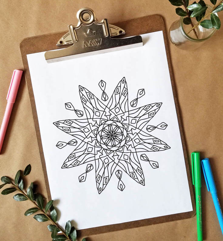 FREEbie Friday - Coloring Page 25