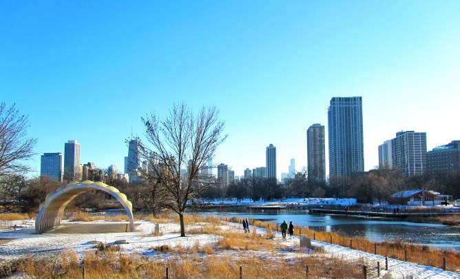 Lincoln Park Chicago Nature Boardwalk 11