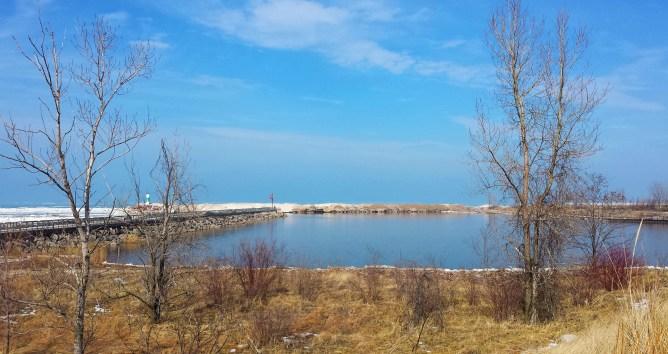 Portage Lake Front & Riverwalk Indiana 1