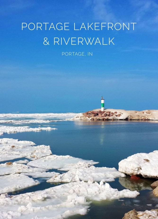 Portage Lake Front & Riverwalk Indiana 8