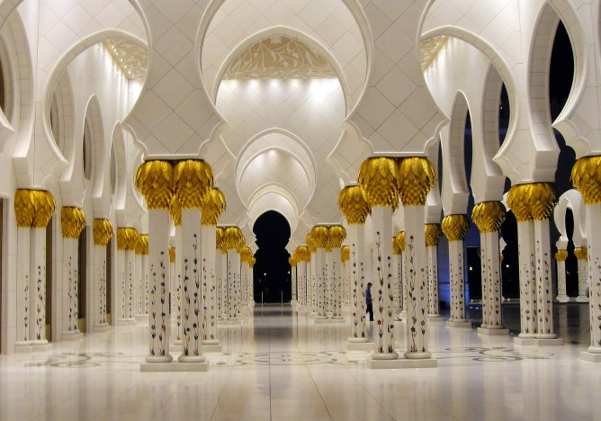 Sheikh Zayed Mosque Abu Dhabi 16