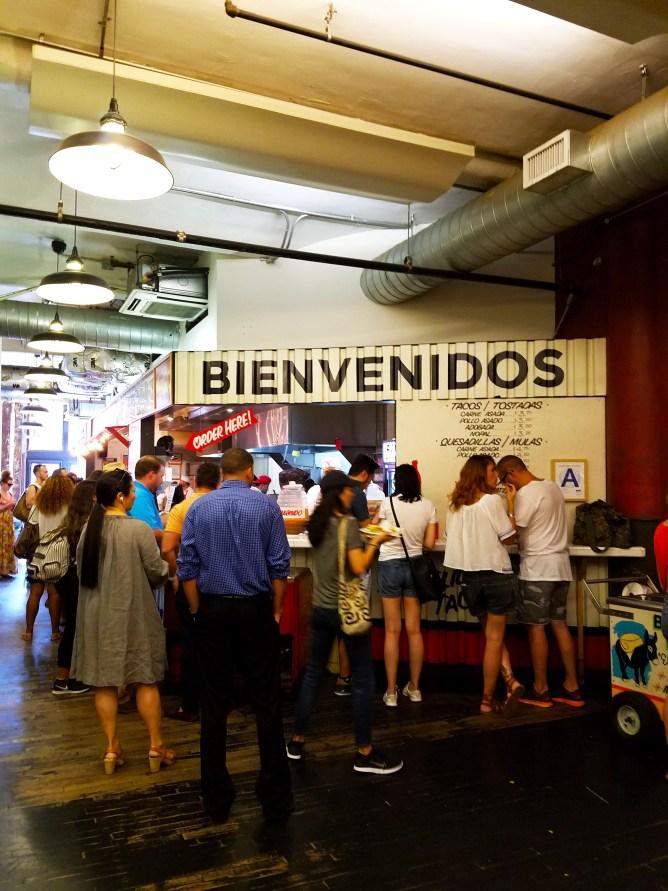 Los Tacos Chelsea Market NYC 1