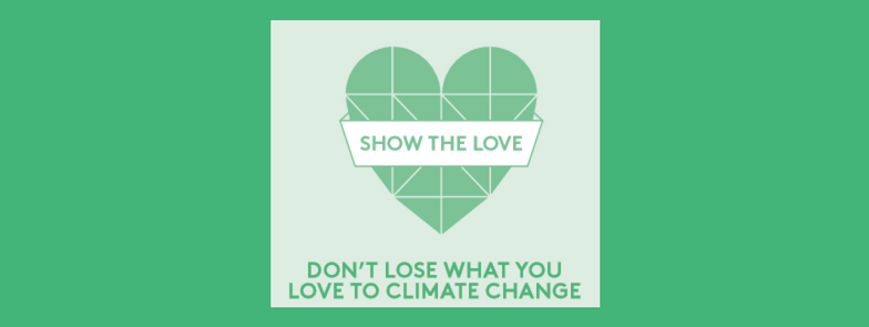 #showthelove logo