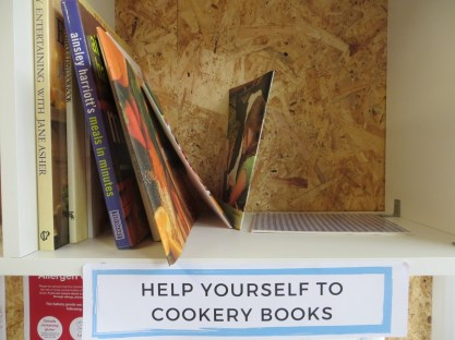 Dundee community fridge cookbooks