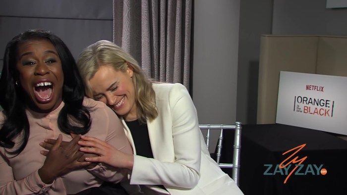 Orange Is The New Black - Uzo Aduba and Taylor Schilling - ZayZay.Com.mp4_20160123_210452. 85