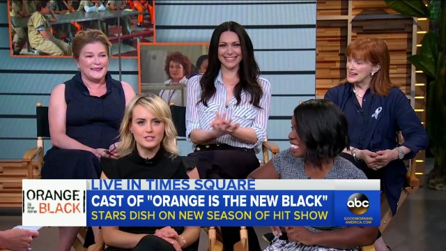 Orange Is the New Black Cast Take Over on GMA.mp4_20160620_173405.406