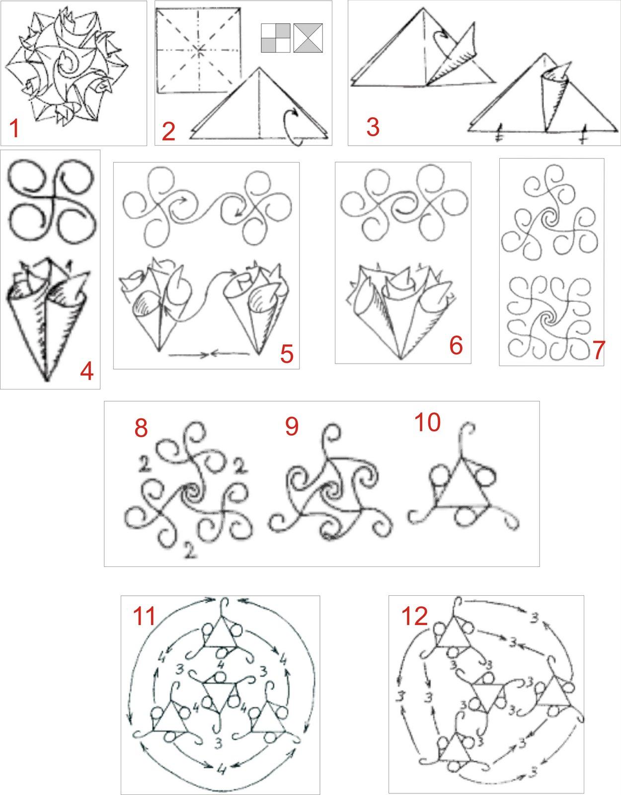 Origami Cisne Swan 3d Block Folding