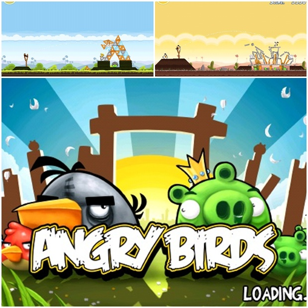 iPhone: Angry Birds