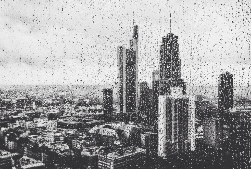 Es regnete