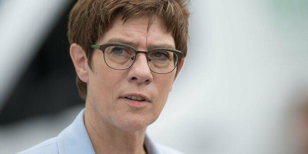 Minister of Defense Annegret Kramp-Karrenbauer
