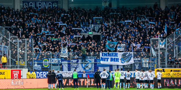 People are in the fan curve of 1860 Munich
