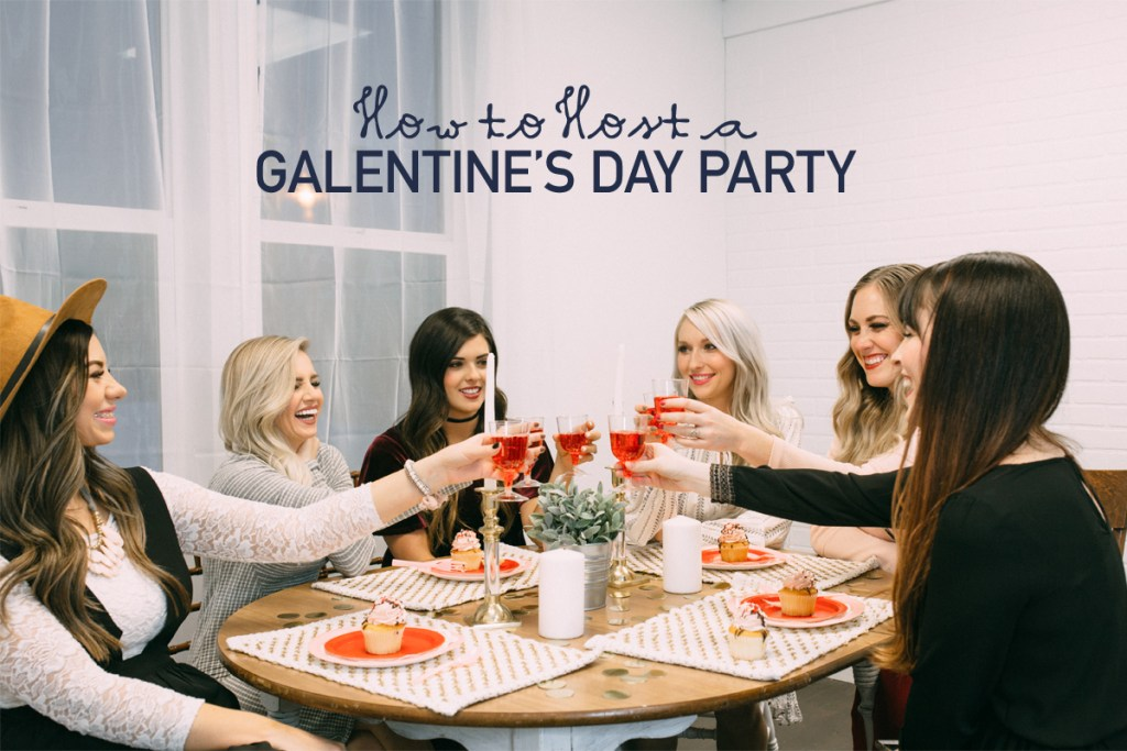 galentine's day party, party ideas
