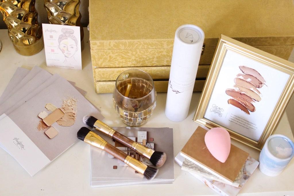 Maskcara Beauty products, IIID perfector, HAC brush