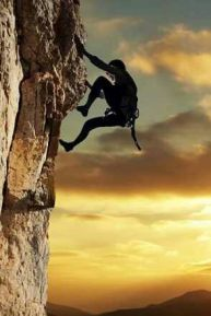 climb cliff