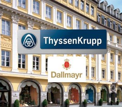 Reparatur der Aufzugsanlagen Dallmayr Cafe München