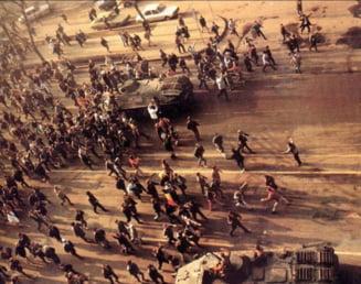 29 de ani de la Revolutie: Politistii impiedica depunerea de coroane la Universitate. Marturii cutremuratoare ale supravietuitorilor