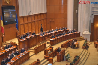 Plenul Camerei Deputatilor a aprobat noua componenta a Biroului Permanent. Iordache si Nicolicea, printre vicepresedinti