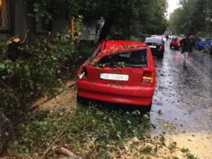 masina avariata Floreasca