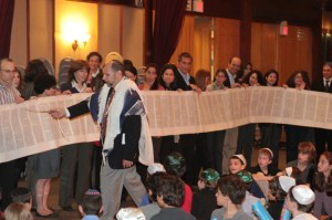 Rabbi at Simchat Torah