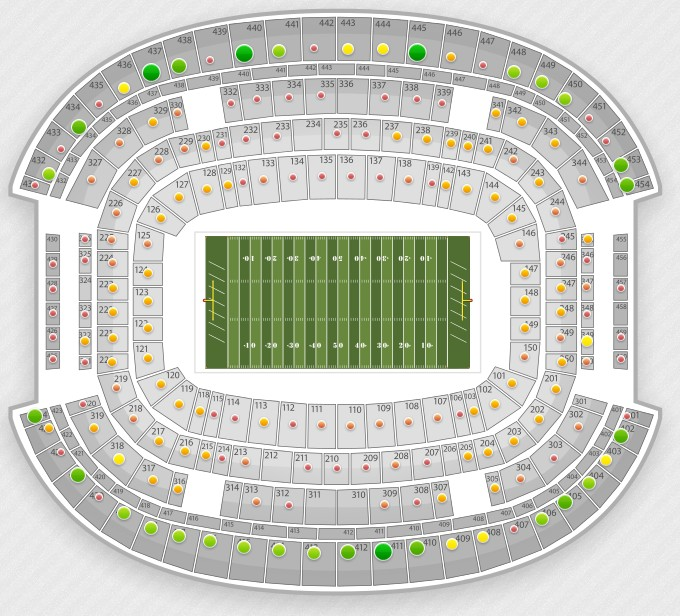 michigan football stadium seating chart with rows nfl seating charts