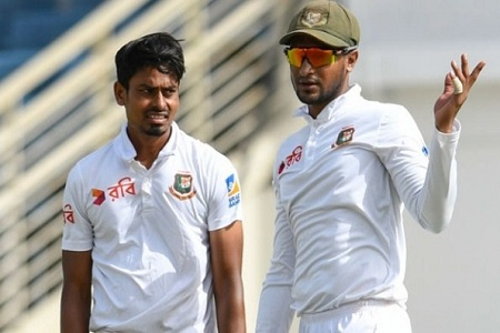 Shakib-Taizul tremble in the West Indies