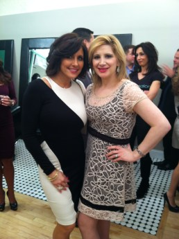 Heather Robinson and Tara