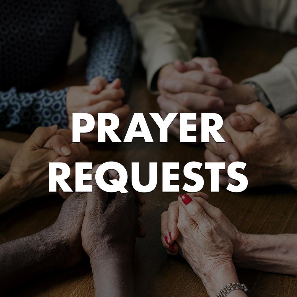 Submit Prayer Requests