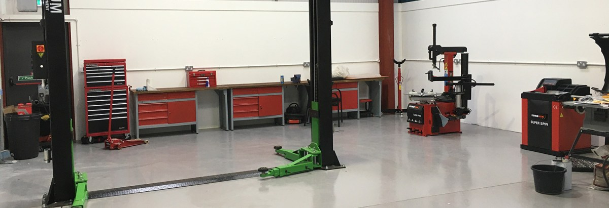 TBCustoms Workshop in Pocklington for all your servicing needs