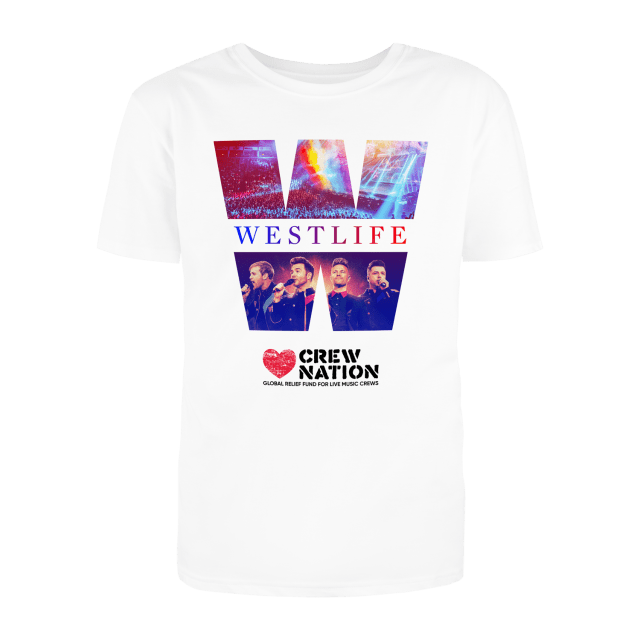 Westlife Support #CrewNation with exclusive Tee