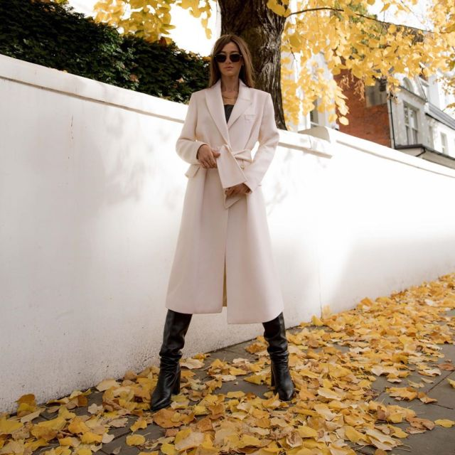 Eleanor Calder is ready for Autumn in Taylor Morris Eyewear