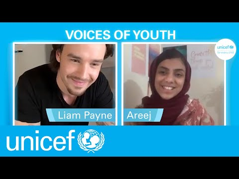 Liam Payne supports Unicef Voices of Youth Campaign for World Children's Day