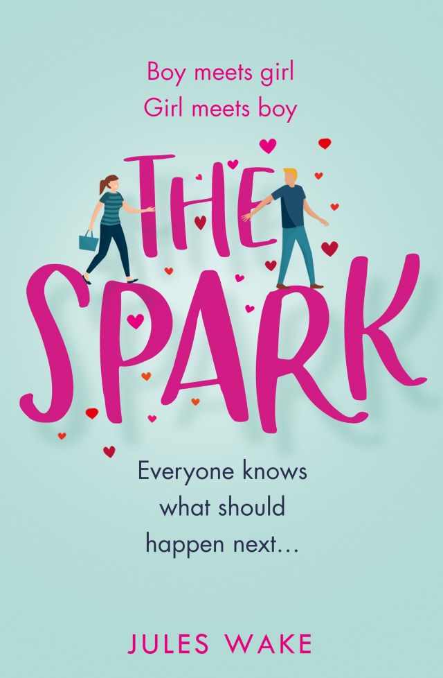 The Spark by Jules Wake is a lighthearted Rom-Com that will make you smile!