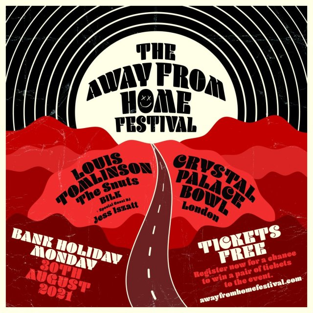 The Away From Home Festival, a new festival by Louis Tomlinson