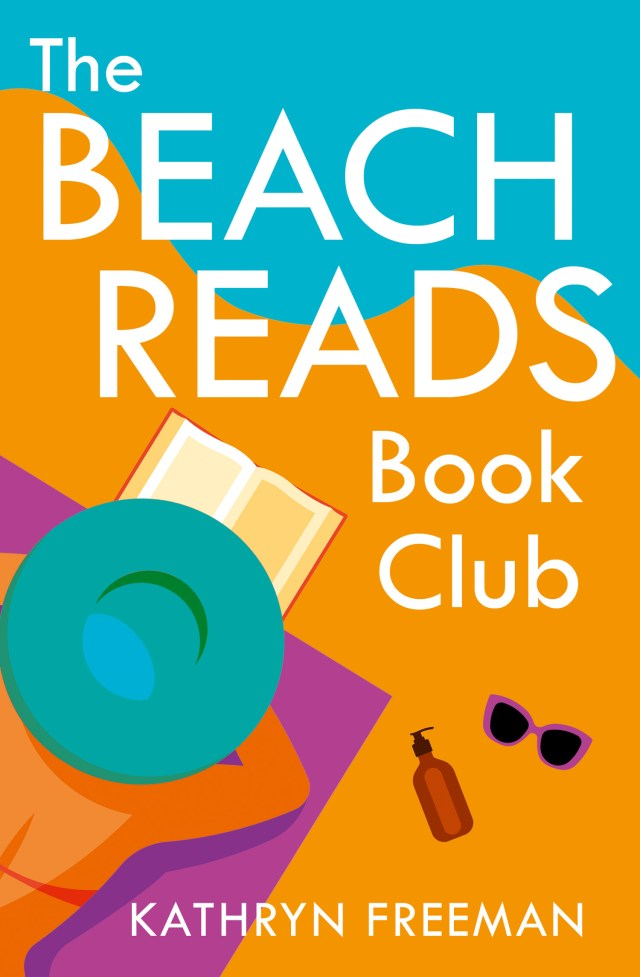 The Beach Reads Book Club by Kathryn Freeman will make you want to join a book club