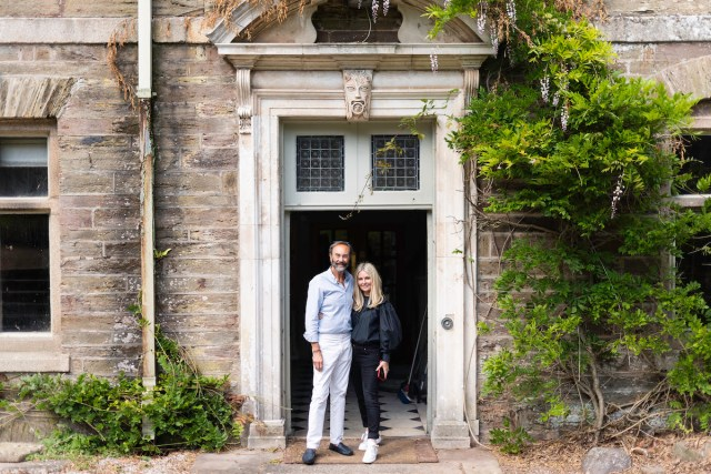Robert Walton MBE and Donna Ida Thornton are the new owners of Langdon Court