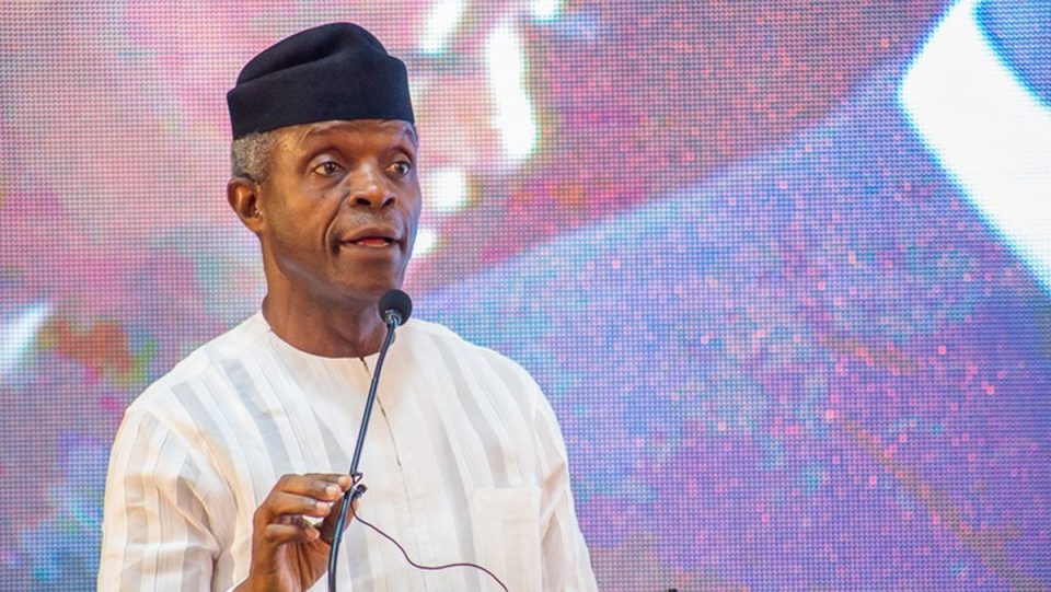 Image result for Women not subordinate to men, says Osinbajo