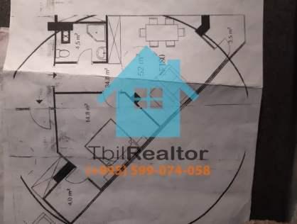 Срочно продается квартира в новостройке в Тбилиси район Крцаниси