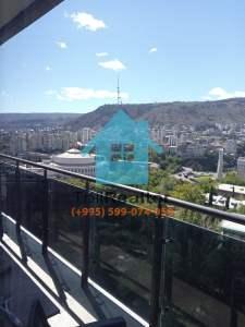 Сдается в долгосрочную аренду 1 комнатная квартира в новостройке в Тбилиси Сабуртало