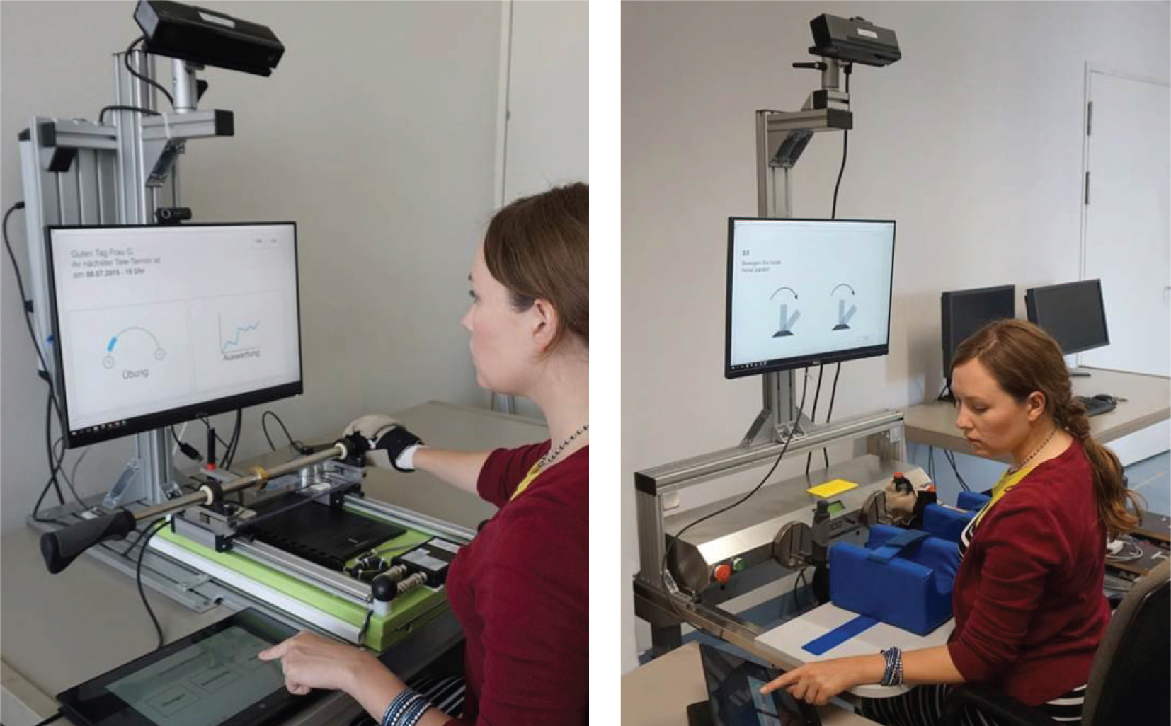 Article User Centered Design Of A Patient S Work Station For Haptic Robot Based