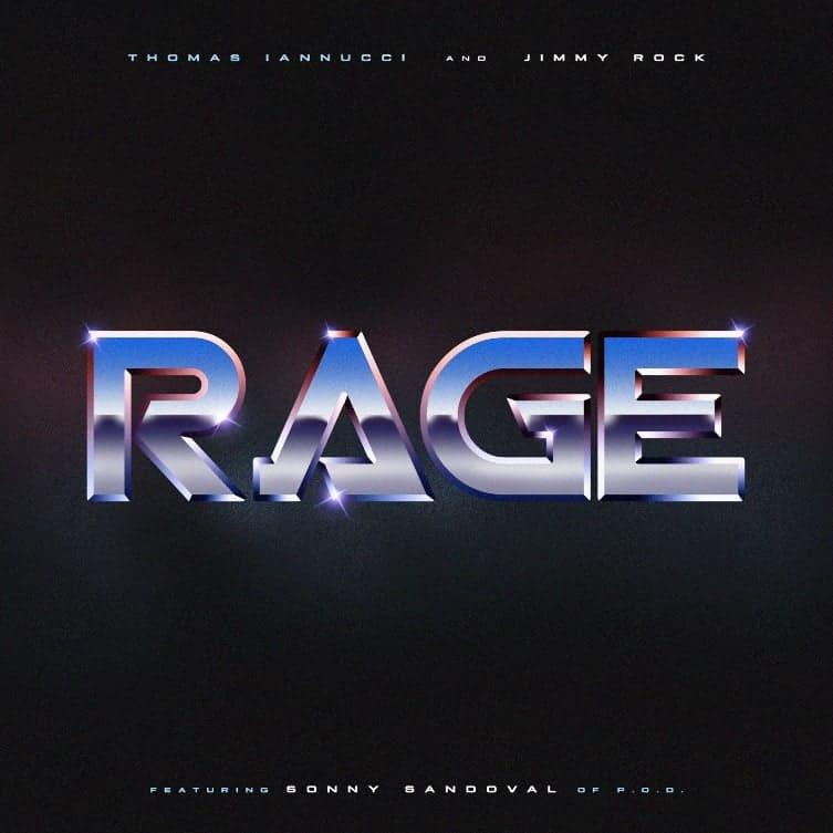 "JIMMY ROCK Remixes Thomas Iannucci's Island Jam ""Rage"" Featuring Rock Legend Sonny Sandoval (P.O.D.)"
