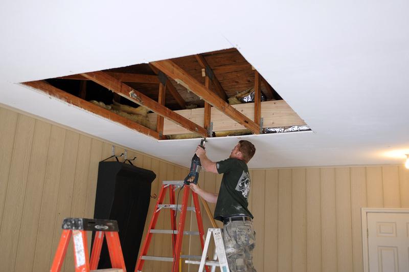 Raising ceiling height in garage theteenline
