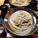 けんぞう蕎麦 - 待ちに待った♡辛味大根のしぼり汁と大根のお漬物がついた「けんぞう蕎麦」ヽ(´▽`)/