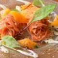 人参と完熟オレンジの爽やかサラダ