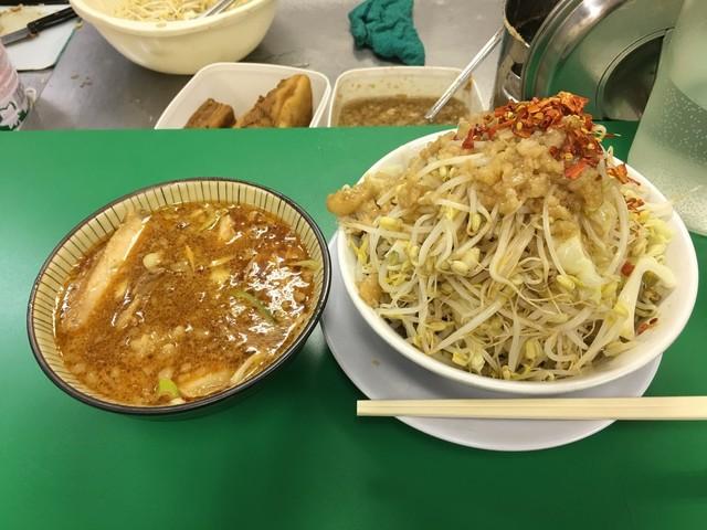二郎系のつけ麺は最高