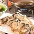 牡蠣の地酒しゃぶしゃぶ(5ケ)