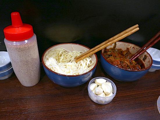 麺屋はし本 中州店のラーメン